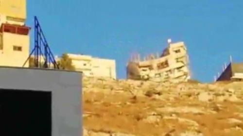 Ürdün'de operasyon sırasında bina çöktü