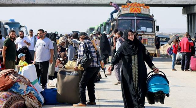 Deradan zorunlu tahliye edilenlerin sayısı 3 bin 300ü geçti