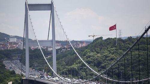 FSM Köprüsü'nde kaza: 2 şerit trafiğe kapatıldı