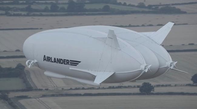 Dünyanın en büyük hava aracı: Airlander 10