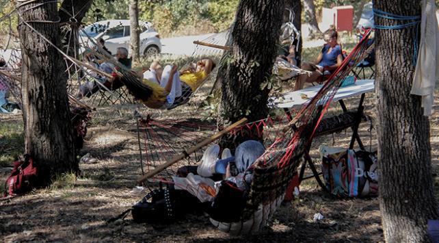 "Bursada ""Hamak Festivali"" düzenlendi"