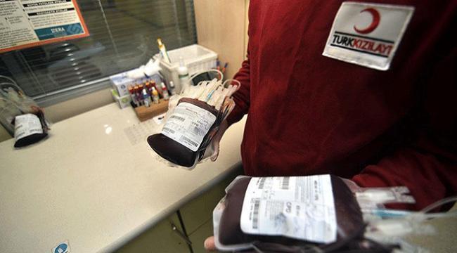 Türk Kızılayına 4 saatte 200 ünite kan bağışı yapıldı