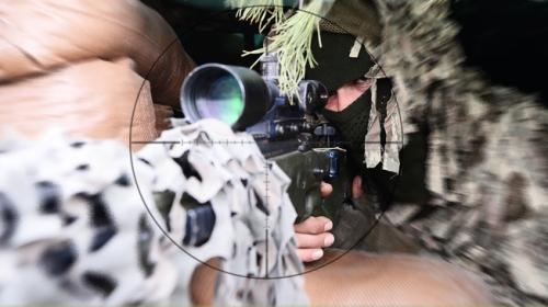 Türkiyenin keskin nişancıları hedefi tek atışta vuruyor