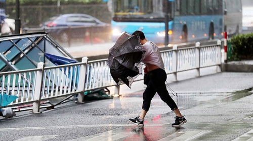 Çin'de Yagi tayfunu: 205 bin kişi tahliye edildi