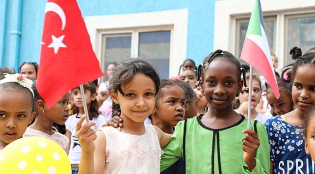 Sudanda FETÖden alınan okulların açılışı yapıldı