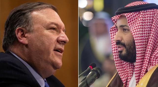 ABD Dışişleri Bakanı Pompeo, Suudi Veliaht Prens Salman ile görüştü