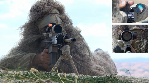 Türkiyenin yeni milli keskin nişancı tüfeği göreve hazır