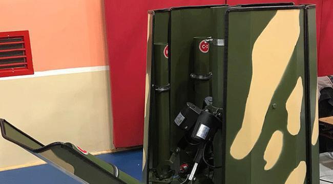 Üniversitesi öğrencileri gizli roketatar sistemi geliştirdi