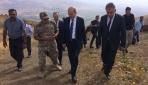 İçişleri Bakanı Soylu Yüksekova Kalana Üs Bölgesinde