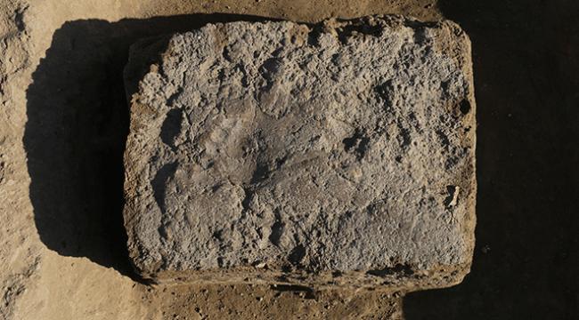 Urartulara ait ayak izine rastlandı