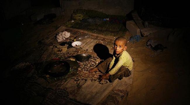 Gazzede her 100 kişiden 85i yoksul