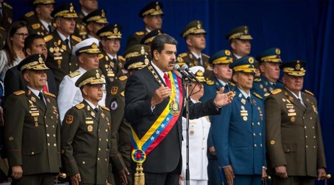 Maduroya suikast girişiminde üst düzey iki askere gözaltı