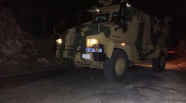 Adıyamanda askeri araca bombalı saldırı: 1 asker yaralı