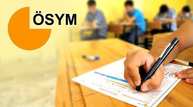 ÖSYMnin hafta sonu yaptığı sınavlara 39 bin aday katıldı