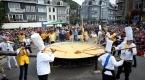 Belçikada 10 bin yumurtalı dev omlet