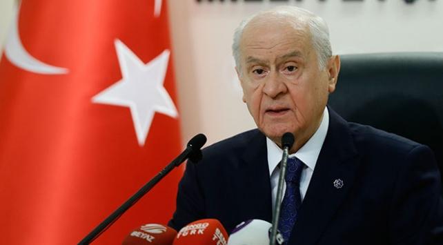 MHP Genel Başkanı Bahçeli: Biz kurla kurulmadık, dövizle devrilmeyiz