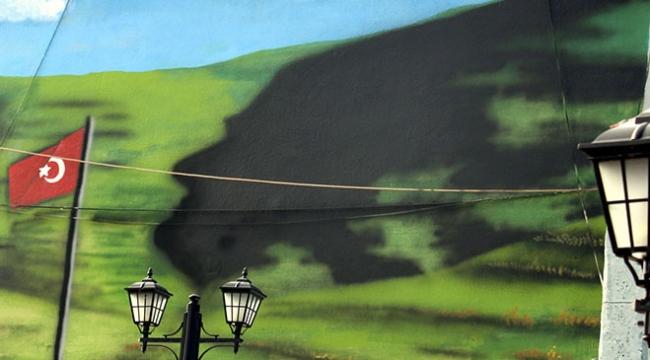 Damalın sembolü Atatürk silüeti artık 4 mevsim görülecek