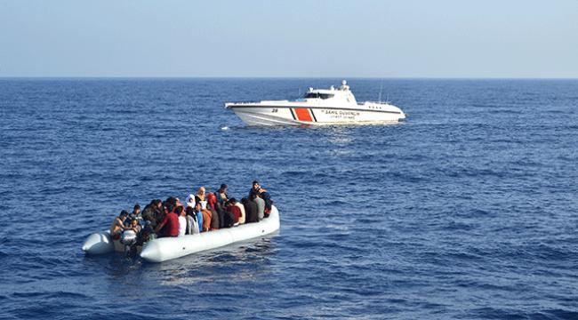 Çanakkalede 41 düzensiz göçmen yakalandı