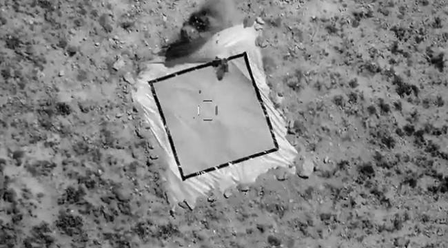 ANKA-S hedefini milli uydu üzerinden vurdu