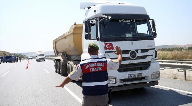 İstanbuldaki hafriyat kamyonlarına sıkı takip