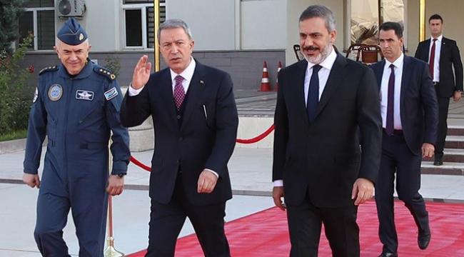 Milli Savunma Bakanı Akar ve MİT Başkanı Fidan Rusyada