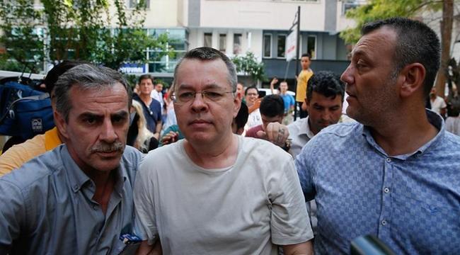 Terör sanığı Brunsonun ev hapsine yapılan itiraz reddedildi