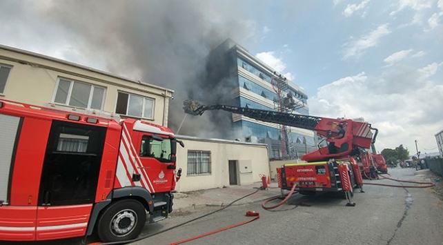 İstanbul Avcılarda tekstil atölyesinde yangın