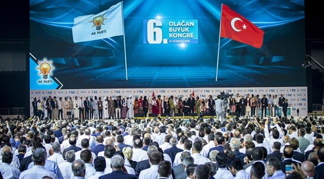 AK Partinin yeni MKYKsı belli oldu