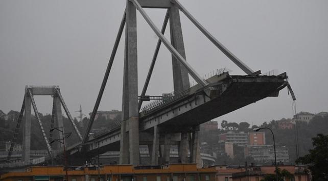 İtalyada köprü çökmesi sonucu ölenlerin sayısı 41e yükseldi