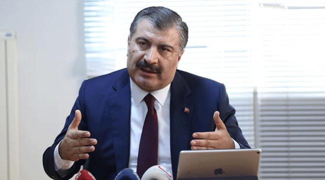 Sağlık Bakanı Koca: Yerlileştirme projelerimizi sırasıyla uygulayacağız