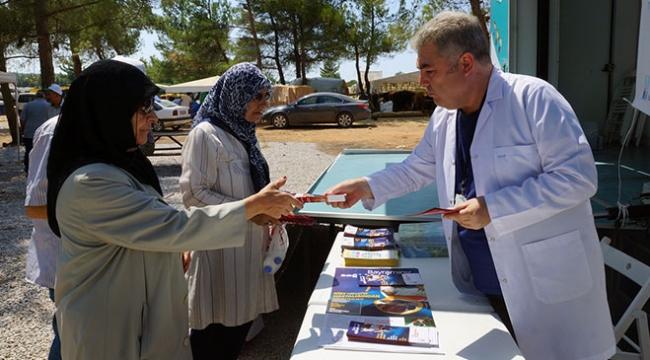 İzmirde kurban pazarlarına sağlıklı yaşam standı
