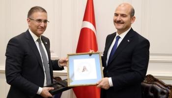 İçişleri Bakanı Soylu Sırp mevkidaşı ile görüştü