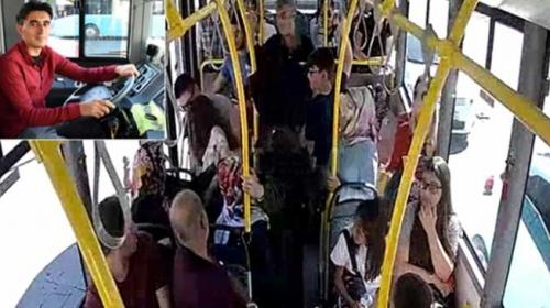 Otobüste kalp pili duran çocuğu şoför hastaneye yetiştirdi