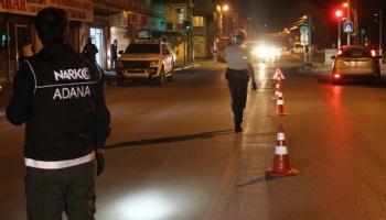 """Adanada hava destekli """"Huzur ve Güven"""" uygulaması"""