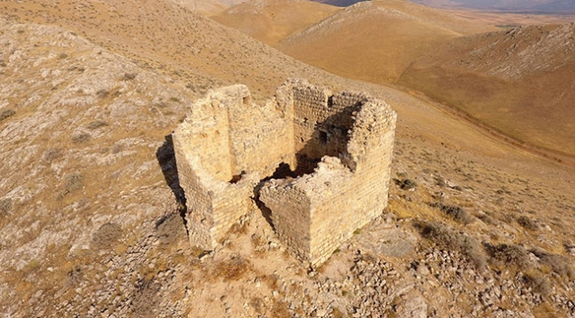Roma dönemine ait Elbistan Kızkalesi turizme katkı sağlayacak