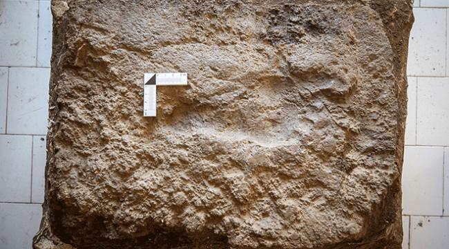 Urartu kadınına ait ayak izi müzede sergilenecek