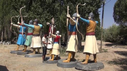 Okçular Vakfı Malazgirt Milli Parkına okçuluk alanı kurdu