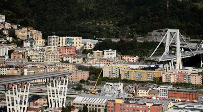 İtalyada köprü faciasıyla ilgili arama kurtarma çalışması sona erdi