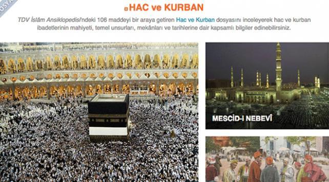 Elektronik İslam Ansiklopedisine Hac ve Kurban dosyası eklendi