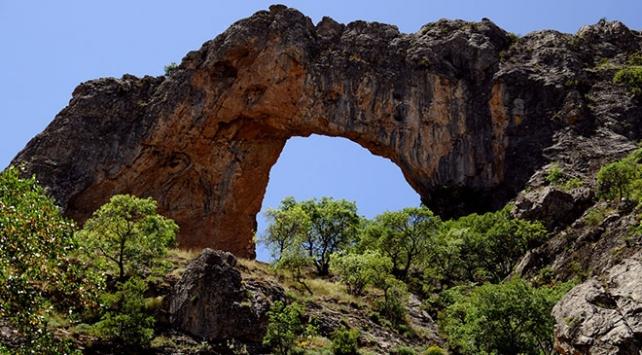 Konyada İvriz Kaya Anıtına yoğun ilgi