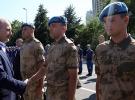 İçişleri Bakanı Soylu jandarma personeliyle bayramlaştı