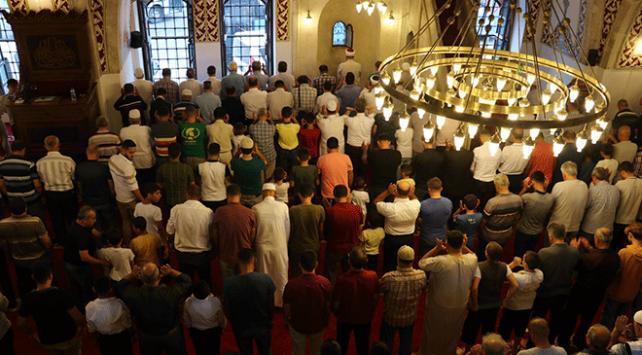 Anadolunun ilk camisinde bayram namazı kılındı