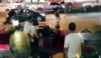 Trafik cezasına kızdı, otomobilini parçaladı