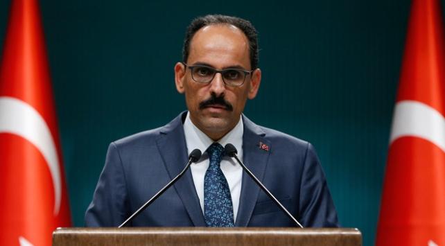 Cumhurbaşkanlığı Sözcüsü Kalın: ABD Türk yargısının kararlarına saygı duymalı