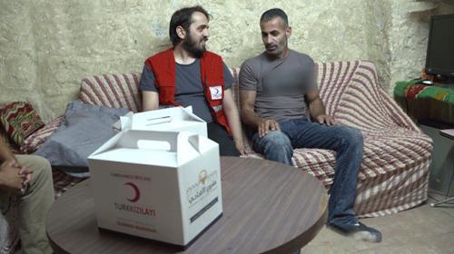 Türk Kızılayı Filistinlileri Kurban Bayramında da yalnız bırakmadı