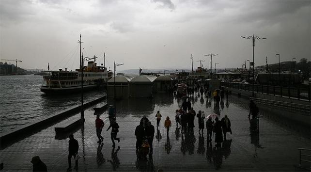 Marmara, Ege ve Akdenizde gök gürültülü sağanak bekleniyor