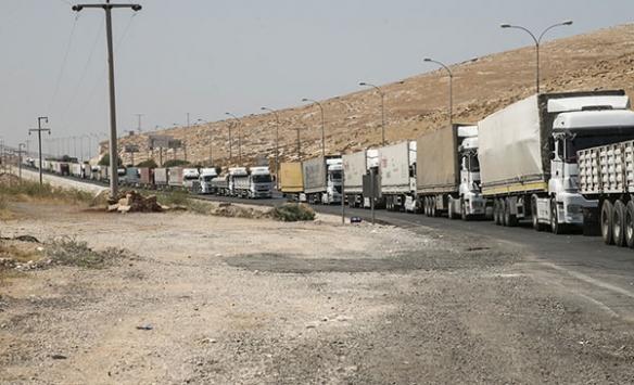 BMden İdlibe 24 tırlık insani yardım