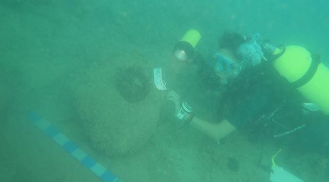 Antalyada 2 bin yıllık gemi batığı bulundu
