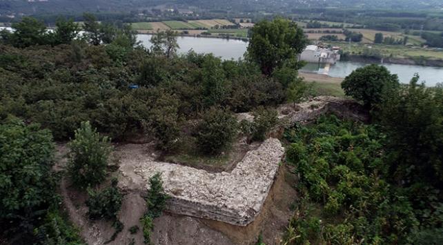 Samsunda Tacettinoğulları Beyliğine ait Türk kalesi kalıntıları bulundu