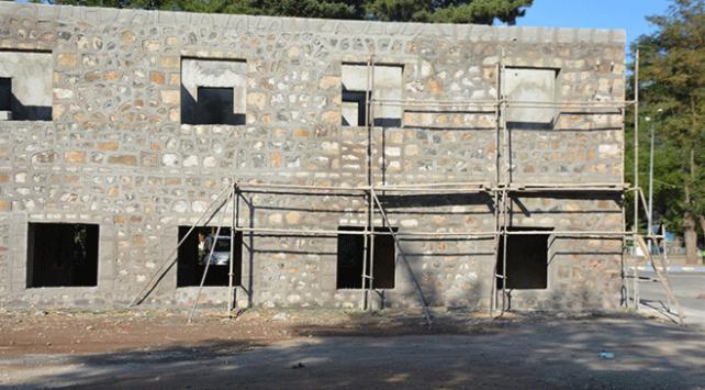 """Tarihi """"İşletme Oteli"""" restore ediliyor"""
